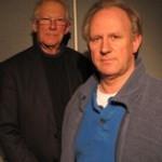 Stephen Thorne and Peter Davison