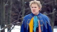 Colin Baker in full Sixth Doctor attire