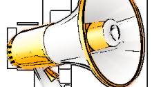 Loud Hailer Pencil Sketch