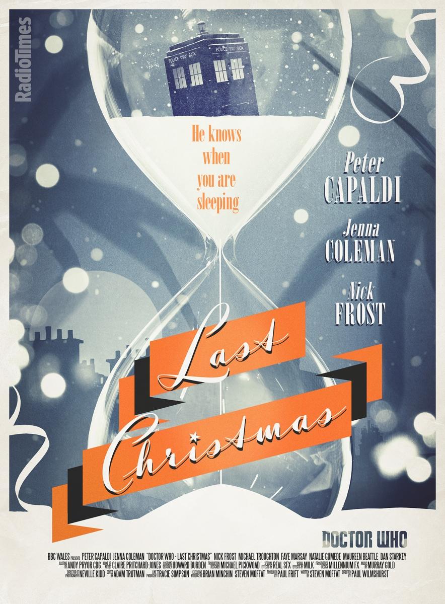 Radio Times Last Christmas poster
