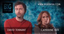 David Tennant and Catherine Tate at Big Finish