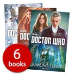 Six Doctor Who books from Book People