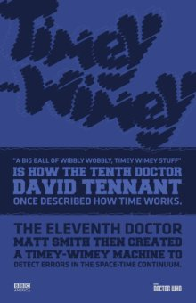 BBC America timey wimey poster