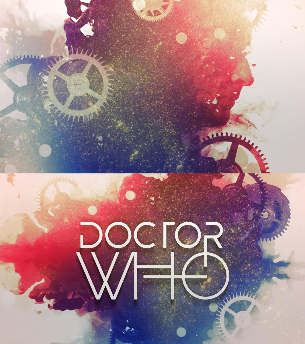 Stuart Manning concept idea for Doctor Who titles