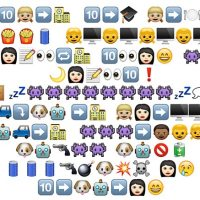 Doctor Who emoji style