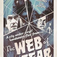 Web of Fear poster from Stuart Manning