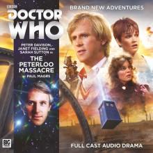 The Peterloo Massacre cover