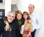 Matthew Waterhouse Janet Fielding Sarah Sutton Peter Davison