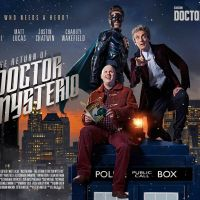 Stuart Manning poster for The Return of Doctor Mysterio