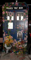 Painted Clara TARDIS