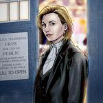 Jodie Whittaker fan art thirteenth doctor Steven Andrew