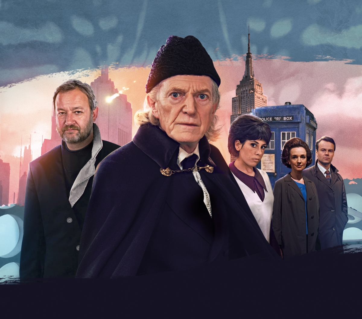 David Bradley to star in the First Doctor Adventures