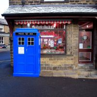 The Skelmanthorpe TARDIS