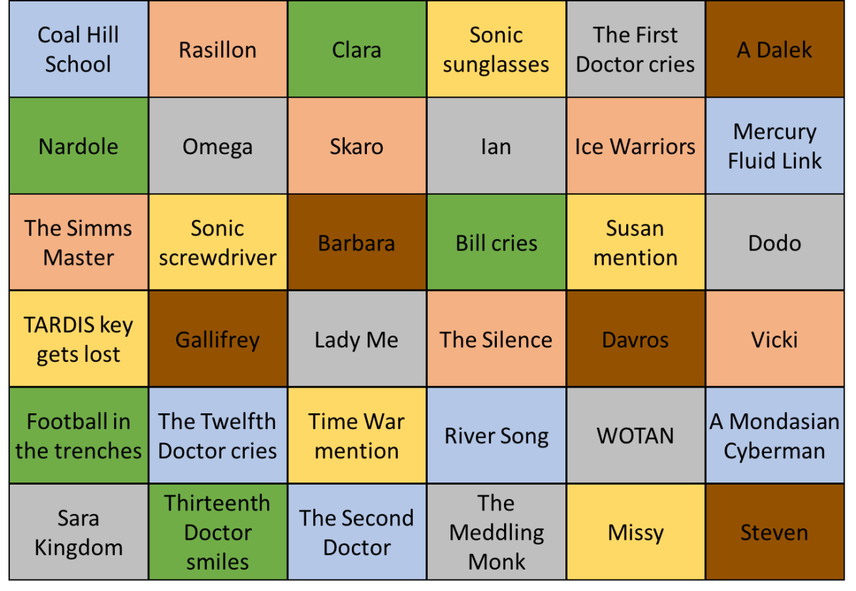 Twice Upon a Time Bingo