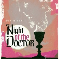 Stuart Manning Night of the Doctor poster