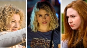 River Song Rose Tyler Amy Pond