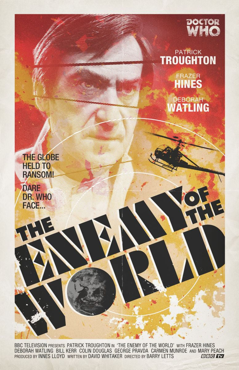 Stuart Manning Enemy of the World poster
