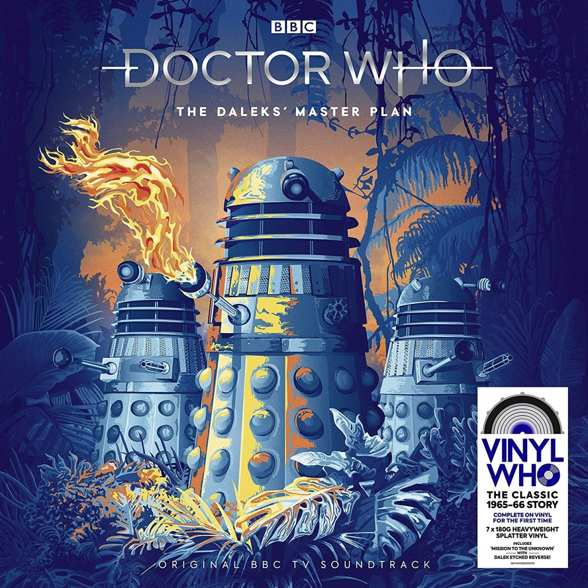 The Dalek Masterplan comes to vinyl