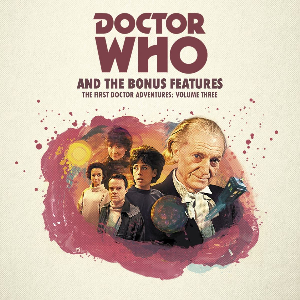 Target style artwork for First Doctor Adventures vol 03