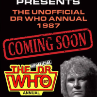 The Unofficial Dr Who Annual 1987 announced