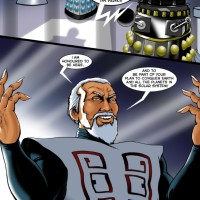Rick Lundeen and Creating the Dalek Masterplan graphic novel