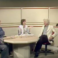 Troughton, Pertwee and Davison 1983 interview