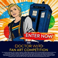 2019 Doctor Who Fan Art Competition for SDCC