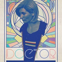 Stuart Manning Thirteenth Doctor poster