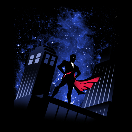 Doctor Who: superhero?