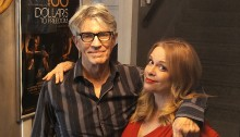 Eric Roberts and Chase Masterson