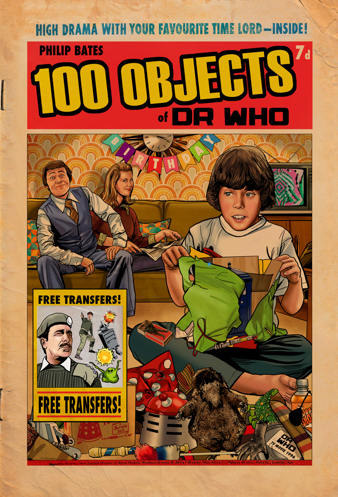 Cover for 100 Objects of DR WHO
