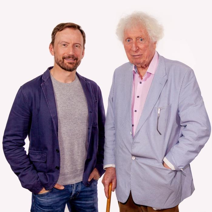 Anthony Howell and Tom Baker